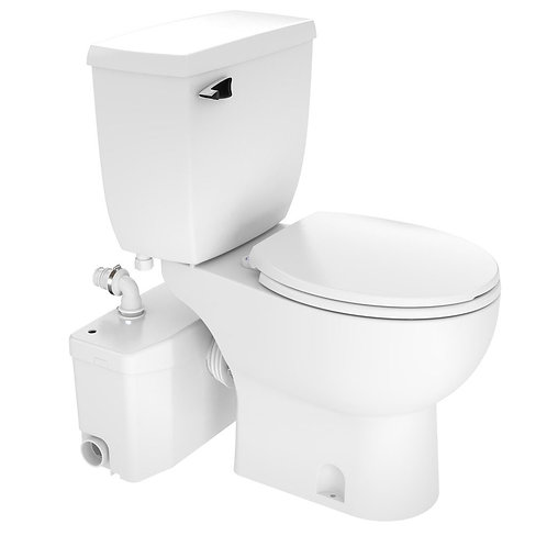 SaniPLUS Macerating Upflush Toilet