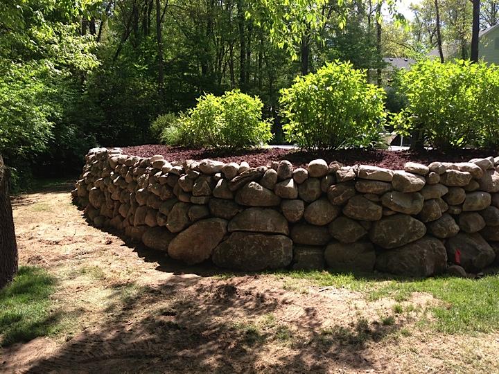 Weaver Lawn Wall