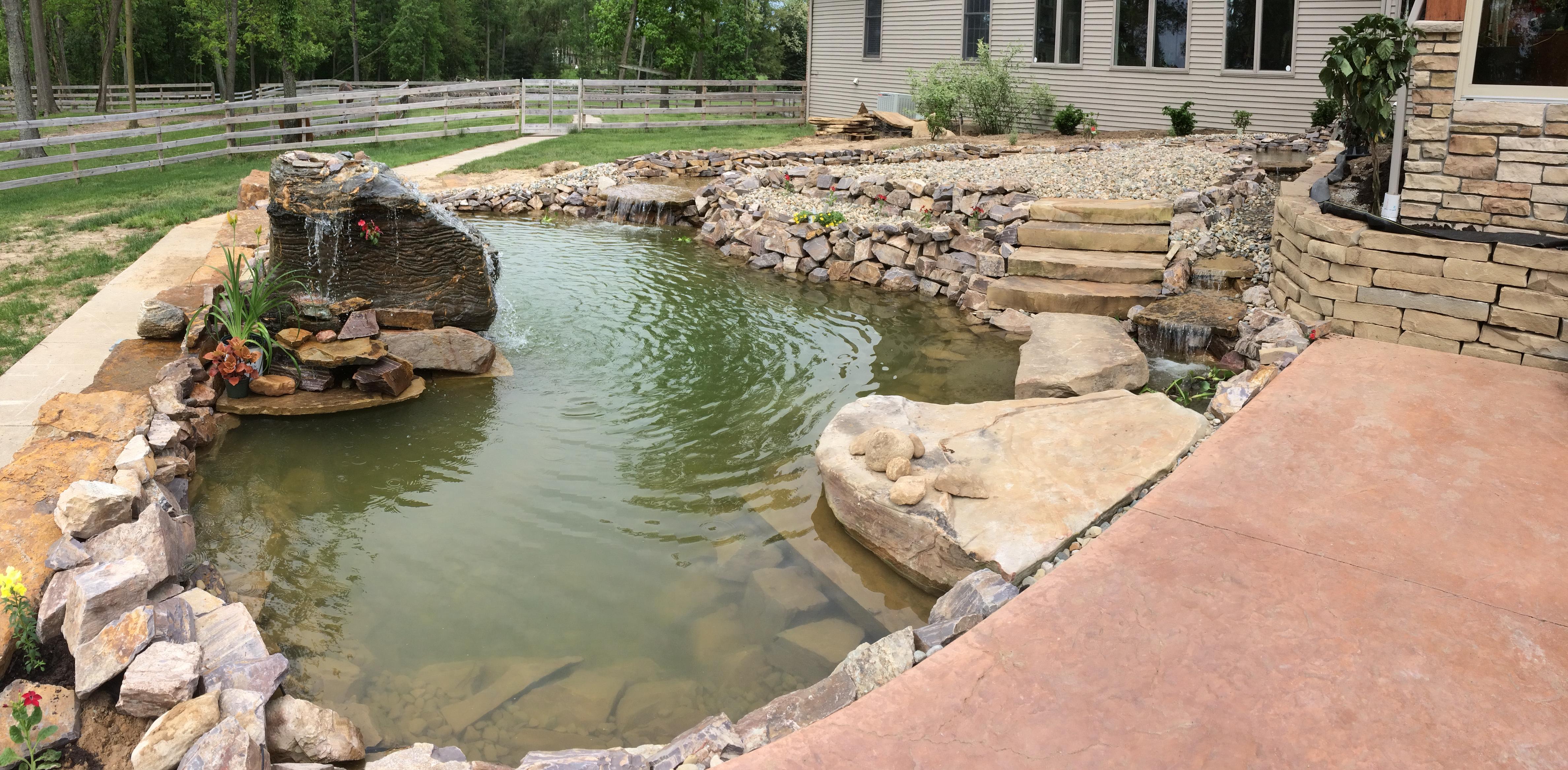 Weaver Lawn Pond