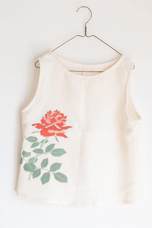 Red Rose ノースリーブブラウス