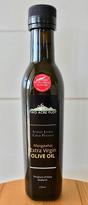 2020 Two acre plot Extra Virgin Olive Oil 250ml