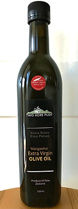 2020 Two acre plot Extra Virgin Olive Oil 500ml