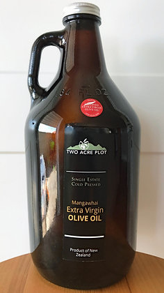 Swap-a-bottle 64oz (1892ml) filled with 2020 Extra Virgin Olive Oil