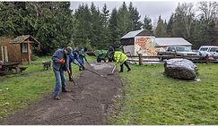 gravel trail work Pic #2.JPG