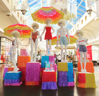 Summer Fashion Installation for Highpoint