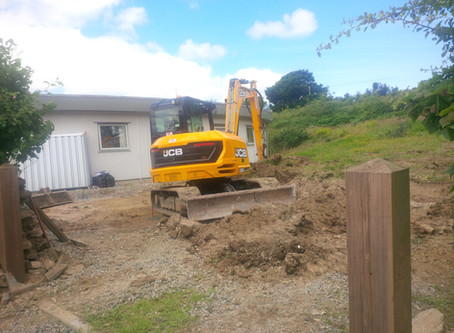 YP Residential Build Begins at Boswyns
