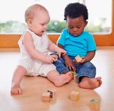 Babies Learn Better Together