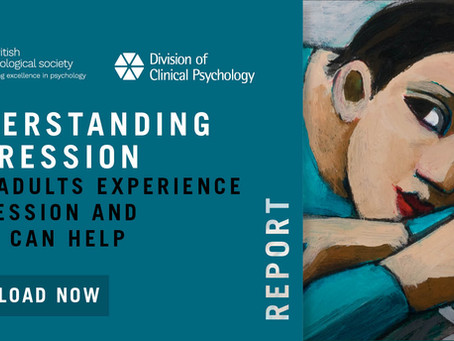BPS Release New Depression Report