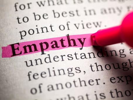 Empathy:  Too Much Like Hard Work?