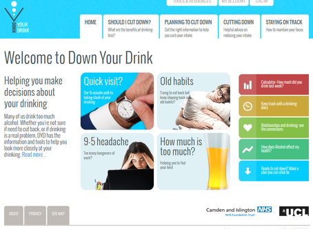 Down Your Drink:  Free Online Alcohol Self-Help Programme
