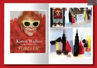 Karen Walker Forever Campaign Windows