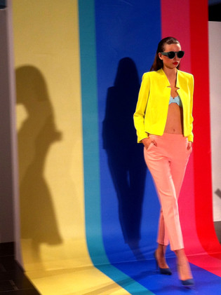 Highpoint Life in Colour Runway set design