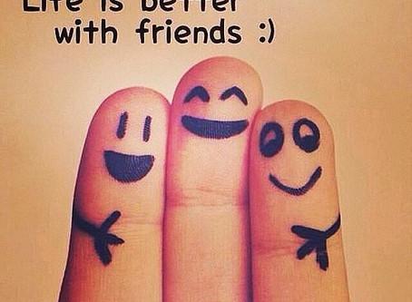 Friendship-The Best Antidepressant?