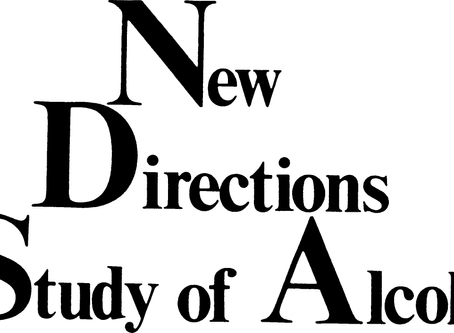 Invite to Speak at the New Directions in the Study of Alcohol Conference, 2017.