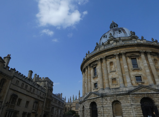 Ox-ploring the City of Dreaming Spires