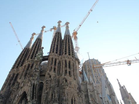 Bustling Barcelona
