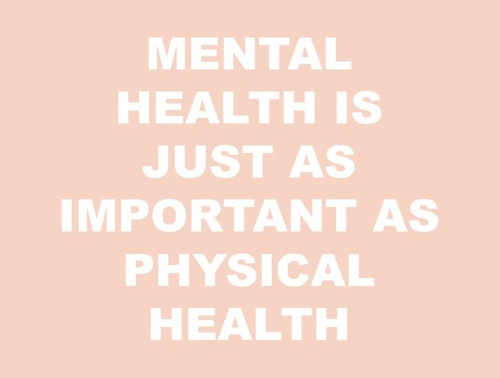Talking mental health and positivity