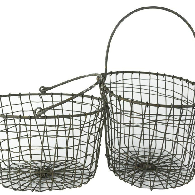 Wire Harvest Fruit Basket