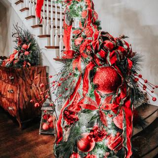 Christmas Handrail Garland