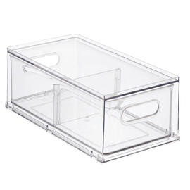 Narrow Stackable Divided Drawer