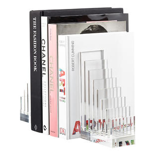 Acrylic File Sorter & Bookend