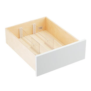 Clear Deep Drawer Divider