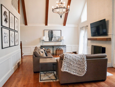 Styling a Family Friendly Living Room
