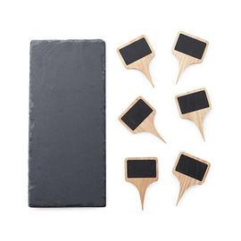 Slate Cheese Board & Markers Set