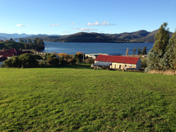 Overlooking the Huon River