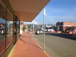 Rainbows in the main street