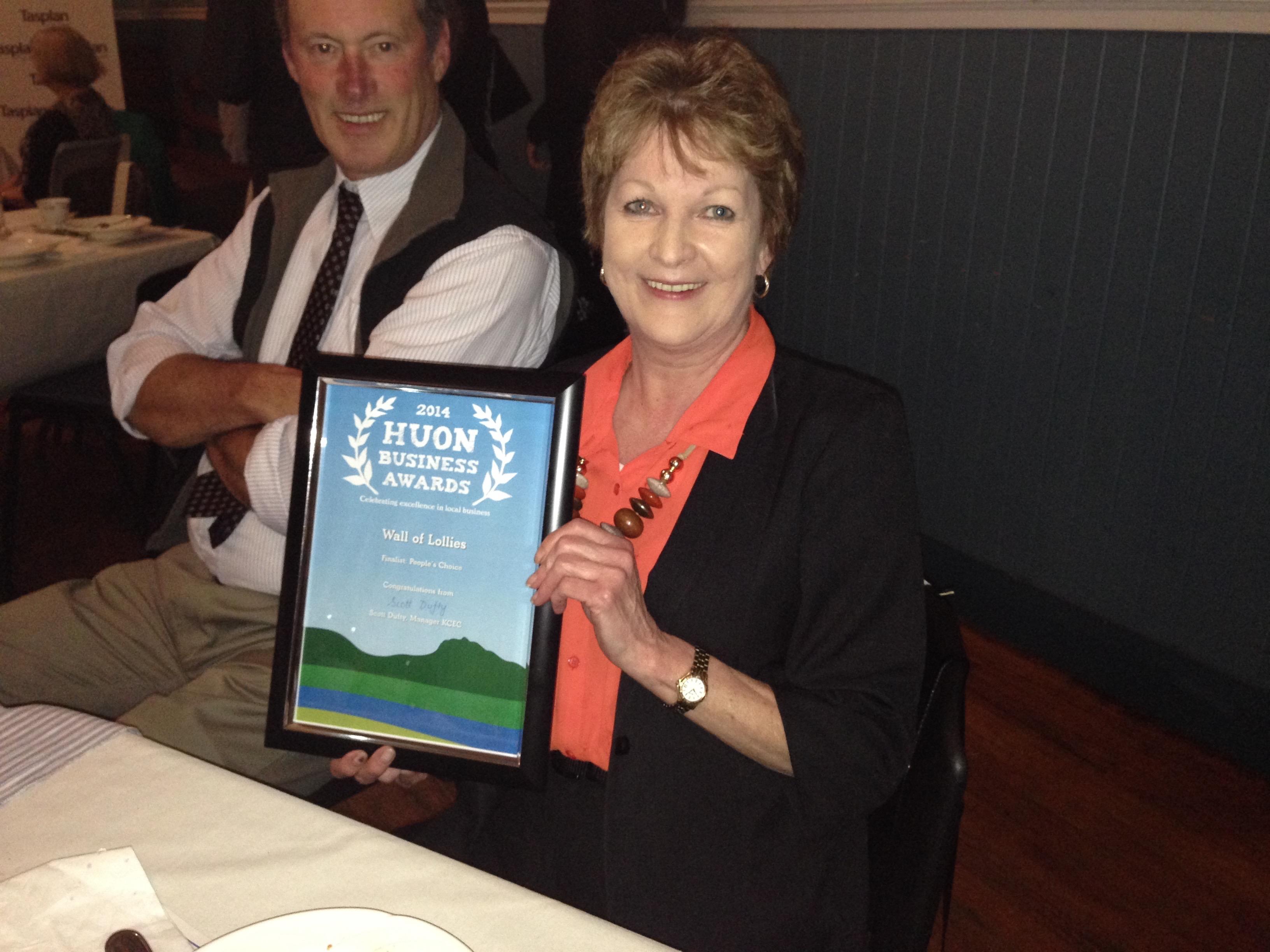Award winning local business owner