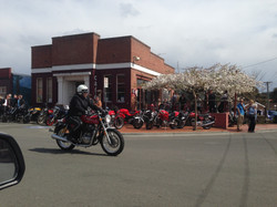 A good day's outing for bikers