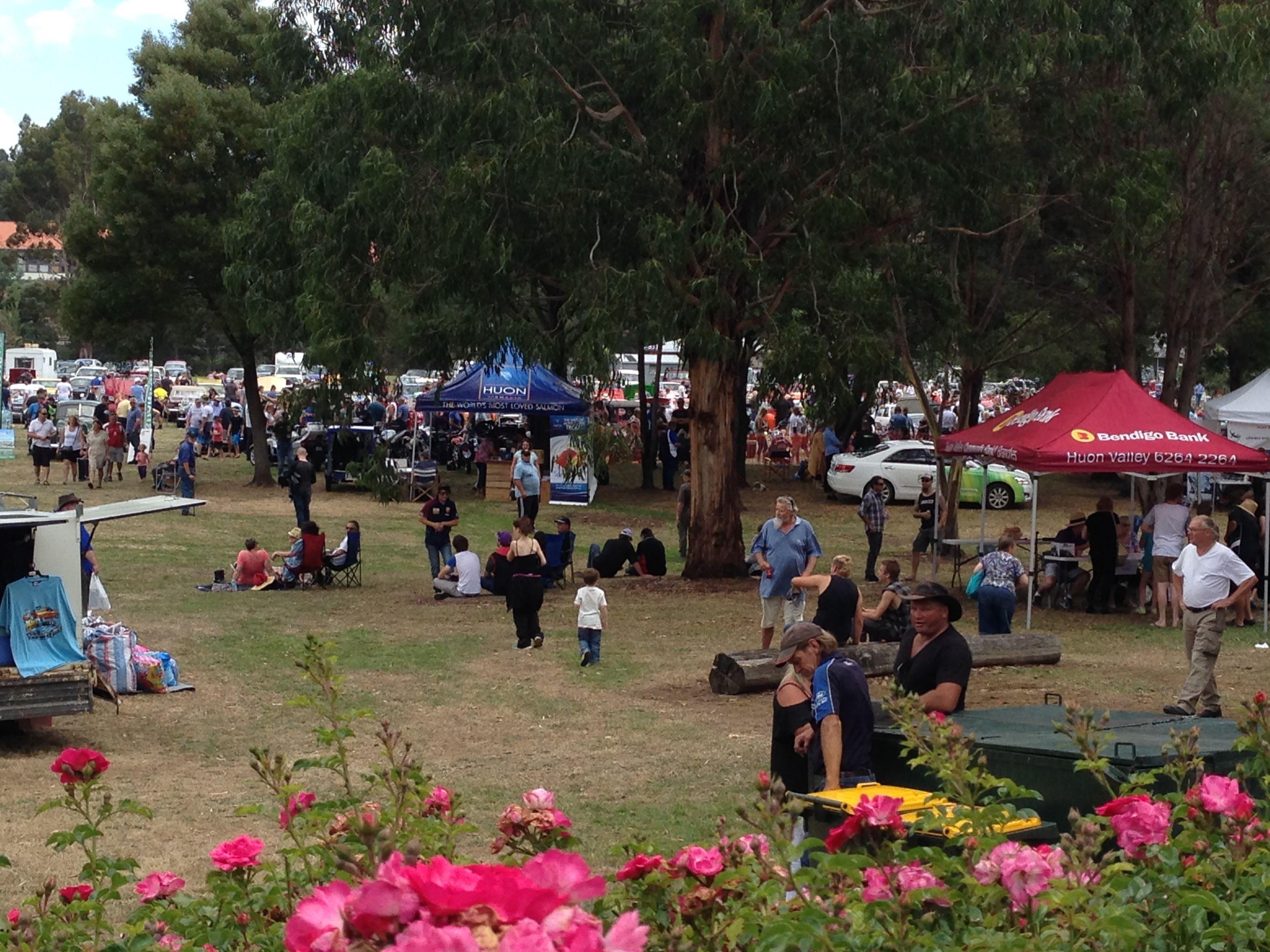 Community fun in Heritage Park