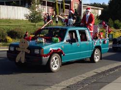 Santa comes to Geeveston