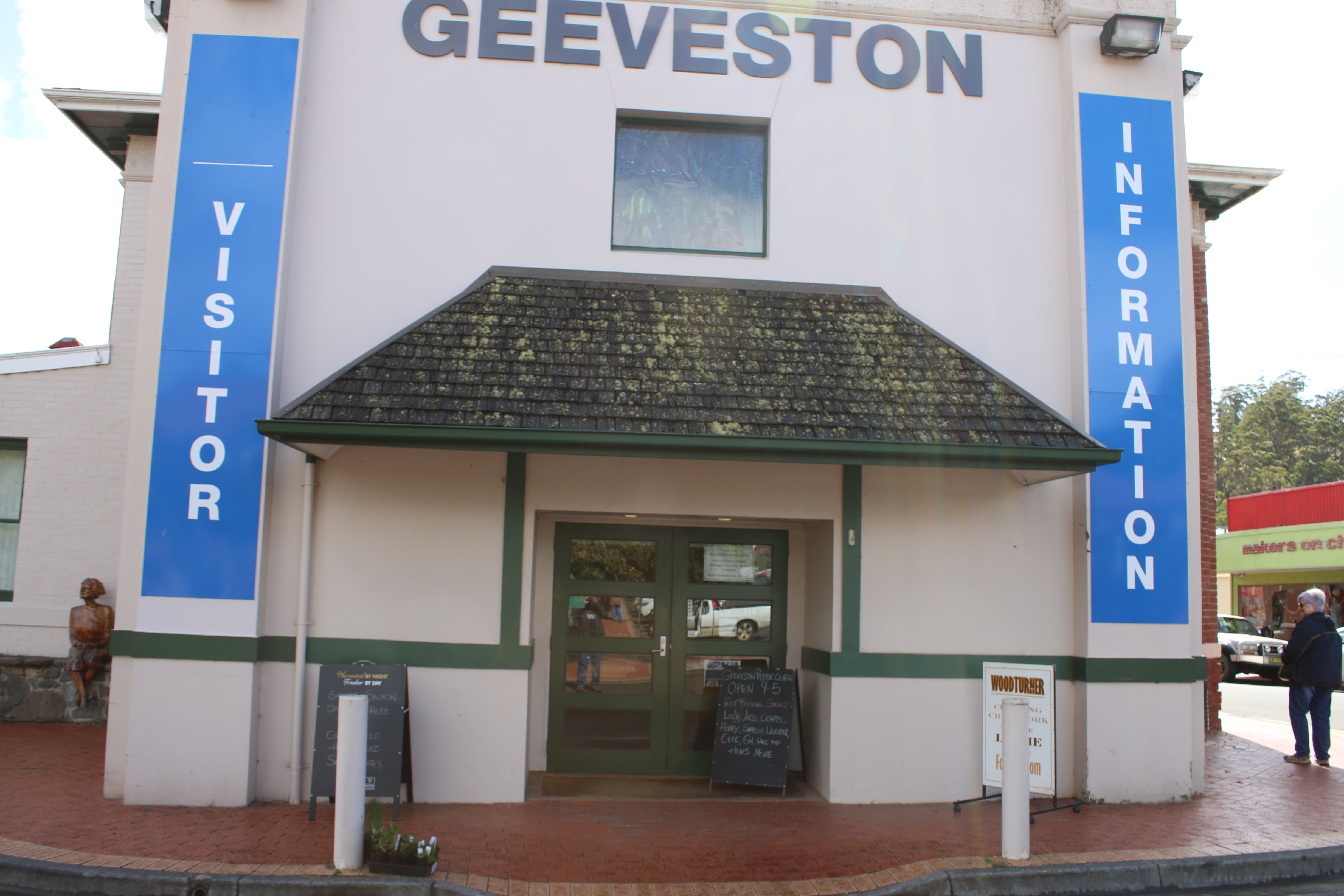 Our Visitor Centre. Step Inside!