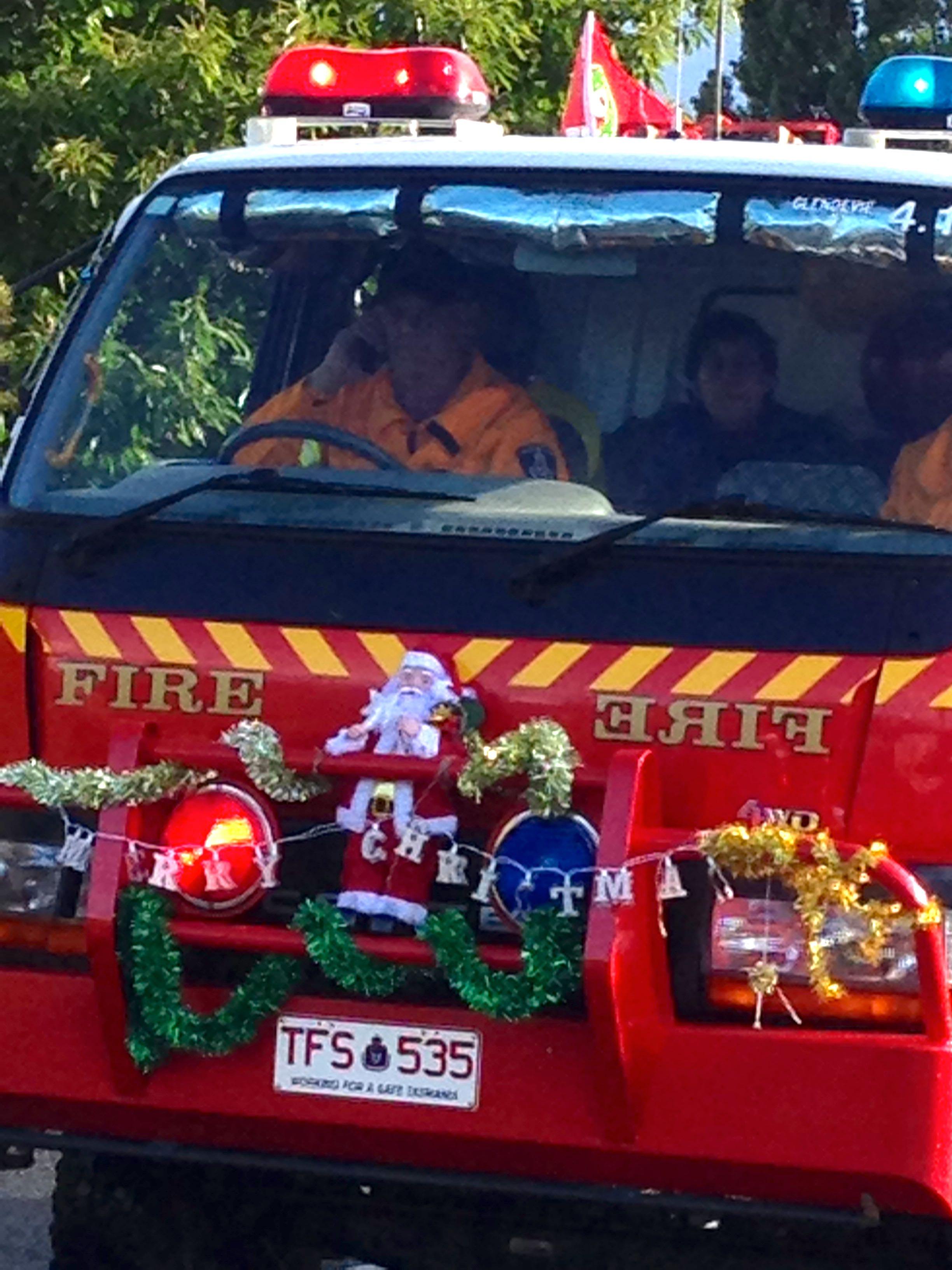 Our fire brigade's Christmas spirit