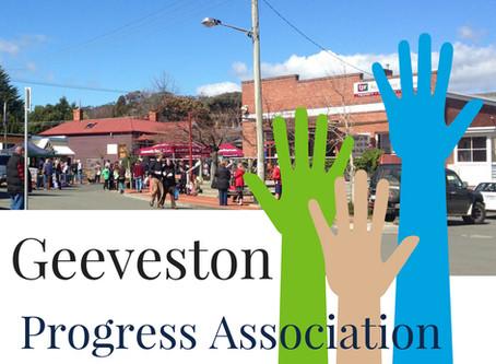 Geeveston Progress Association Meetings