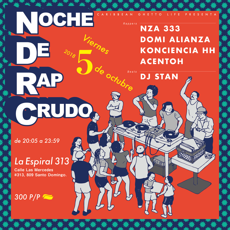Noche De Rap Crudo
