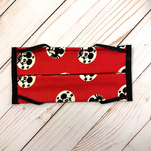 Red and Black Mickey Mouse