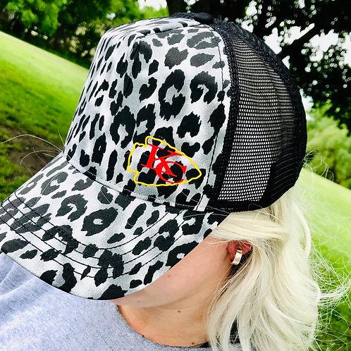 Snow Leopard Chiefs Trucker Hat