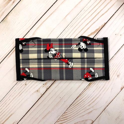 Plaid Minnie & Mickey