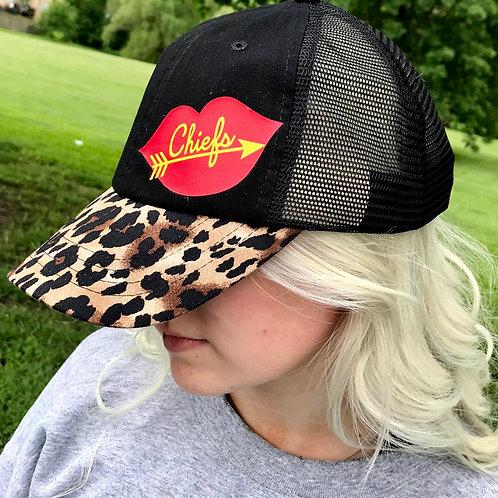 Leopard Bill Chiefs Trucker Hat