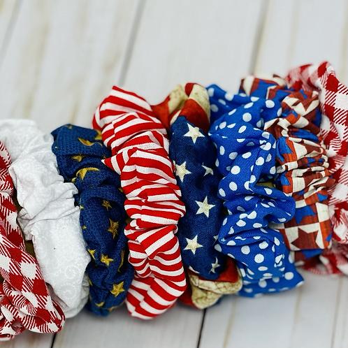 Celebrate America Scrunchies