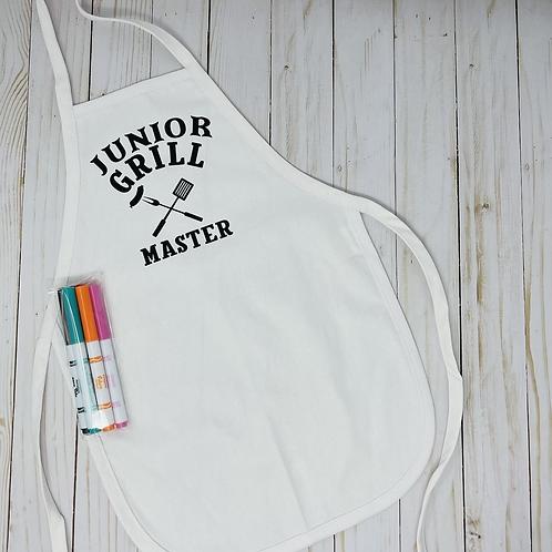Color Your Own Apron Jr.