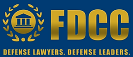 FDCC logo - Defense Lawyers. Defense Leaders.