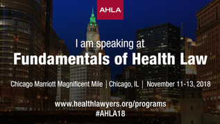 Carla Hartley to present at the American Health Lawyers Association Conference on Nov. 11-13, 2018