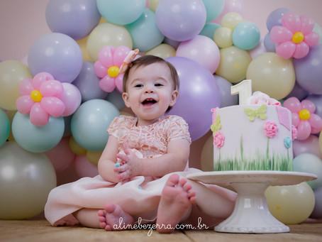 Nina - Ensaio Smash The Cake