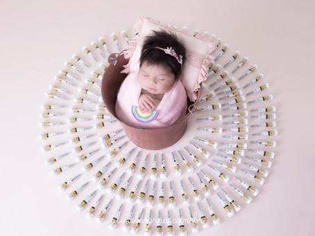 Newborn de Maria Clara - 10 dias