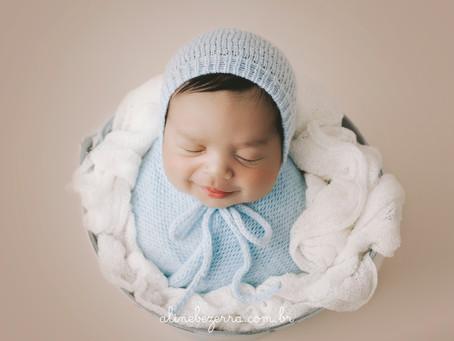 Newborn Benjamim 10 dias - Estúdio Aline Bezerra