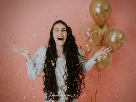 Maria Luiza completa 20 anos.